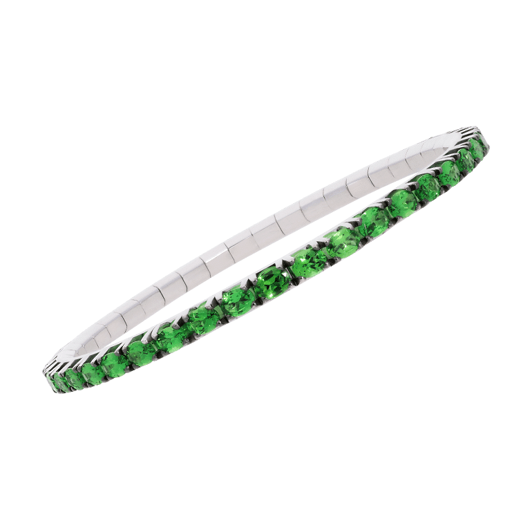 Extensible Special Editions - diamonds elastic tennis bracelet