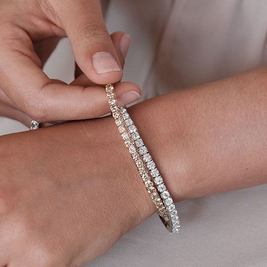 lookbook extensible tennis bracelet