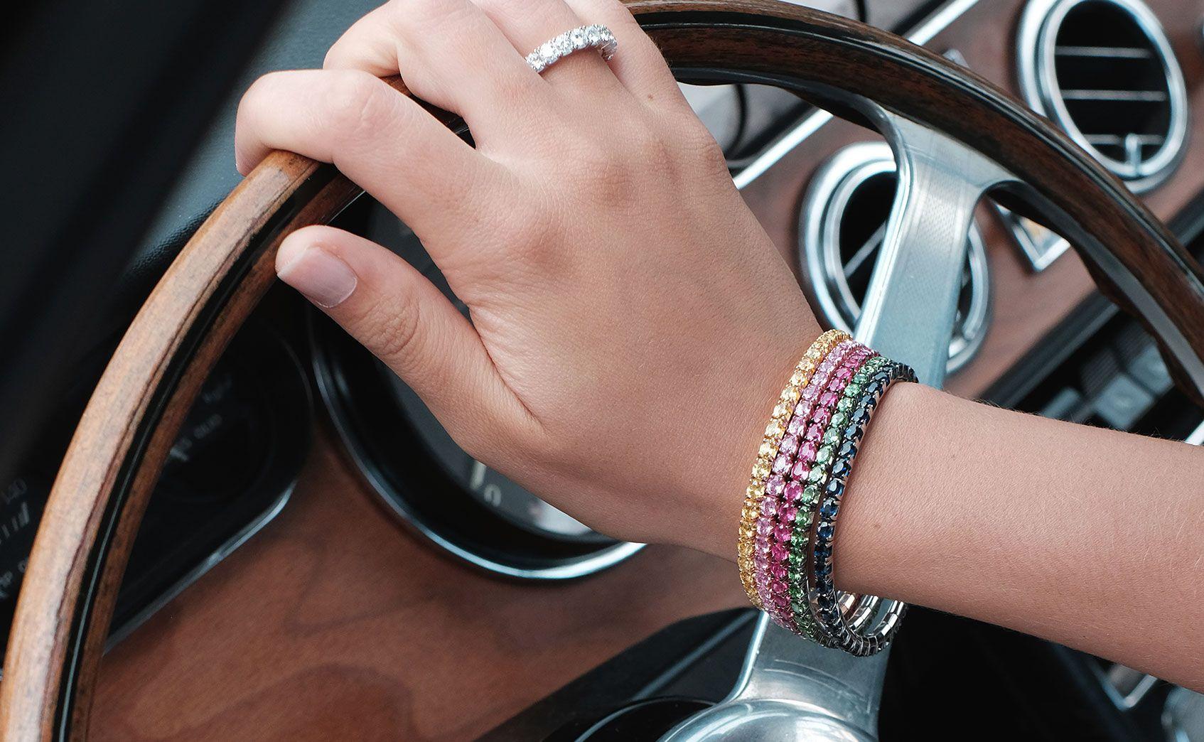extensible special elastic tennis bracelet