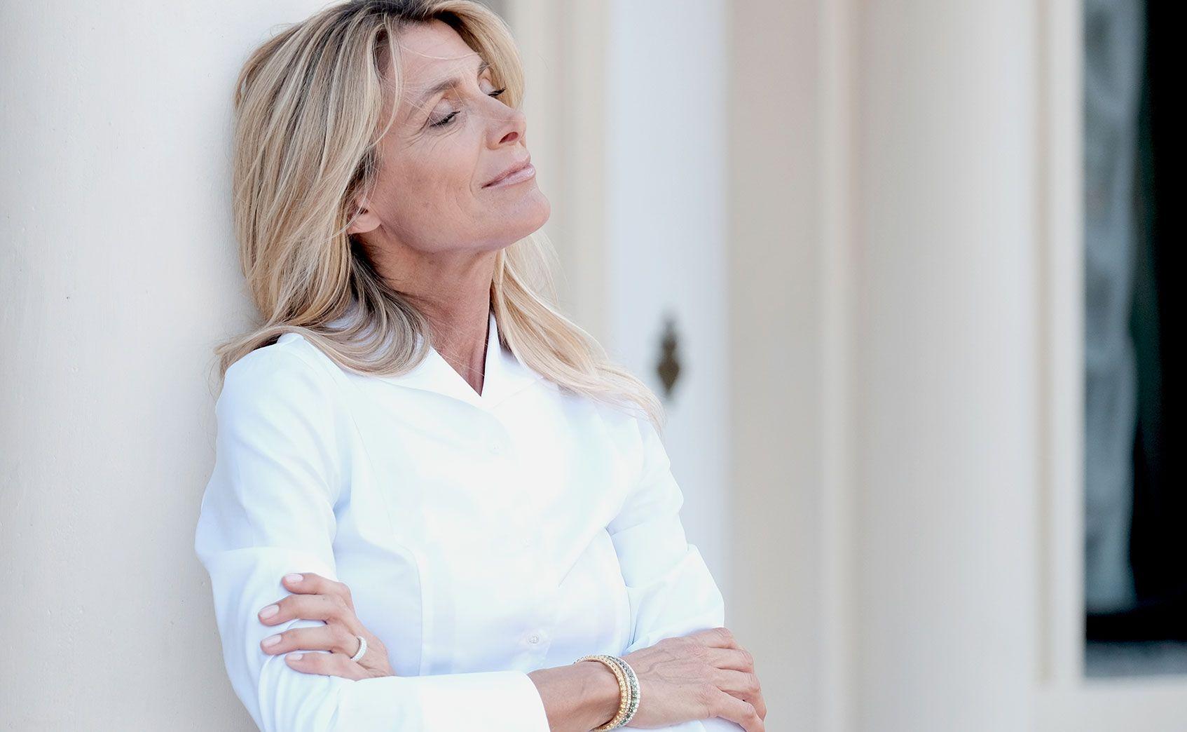 extensible woman elastic tennis bracelet